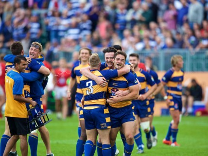 Red Bull Uni 7's final. Bath Uni v Exeter Uni, 17th Sept 2016. The Recreation Ground, Bath.